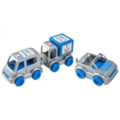 """Набор машинок Kid cars Полиция (39548) купить в магазине """"Пустун"""""""