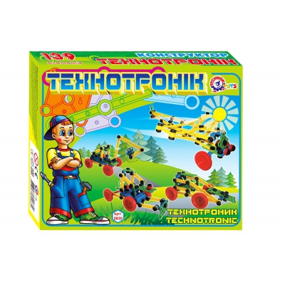 """Конструктор Технотроник ТехноК, 139 деталей купить в магазине """"Пустун"""""""