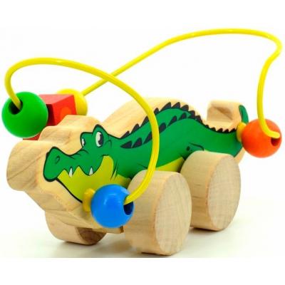 """Лабиринт-каталка МДИ Крокодил (Д362) купить в магазине """"Пустун"""""""