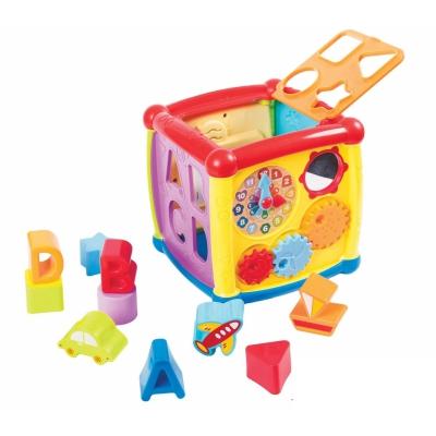 """Интерактивная игрушка Куб сортер купить в магазине """"Пустун"""""""