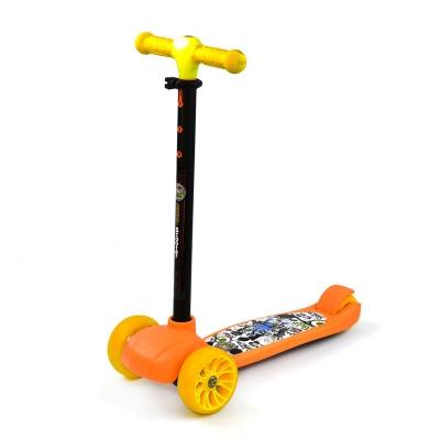 """Самокат трехколесный """"Best Scooter"""" (оранжевый) A-308Y купить в магазине """"Пустун"""""""
