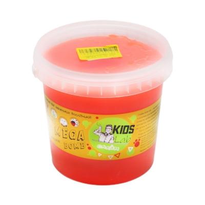 """Слайм Kids Lab Mega Bomb №4 1 кг коралловый купить в магазине """"Пустун"""""""