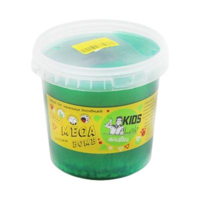 """Слайм Kids Lab Mega Bomb № 13 1 кг зеленый купить в магазине """"Пустун"""""""