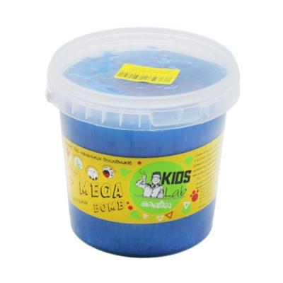 """Слайм Kids Lab Mega Bomb №7 1 кг синий купить в магазине """"Пустун"""""""