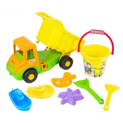 """Игровой набор Multi truck 8 элементов (39204) купить в магазине """"Пустун"""""""