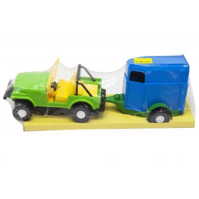 """Машина Wrangler с конем (39007) купить в магазине """"Пустун"""""""