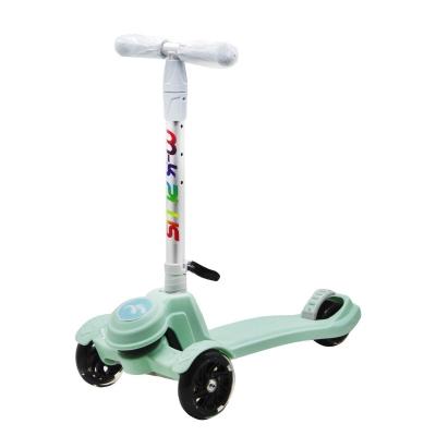 """Самокат трехколесный """"Scooter M-K PLUS"""" (мятный) GS-0041 купить в магазине """"Пустун"""""""