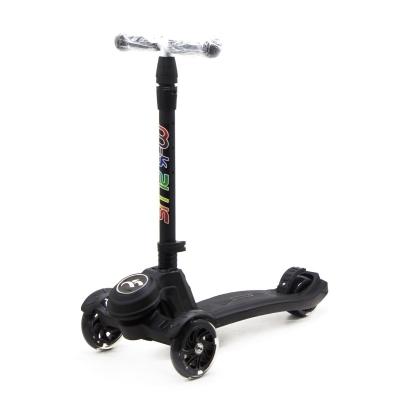 """Самокат трехколесный """"Scooter M-K PLUS"""" (черный) GS-0041 купить в магазине """"Пустун"""""""