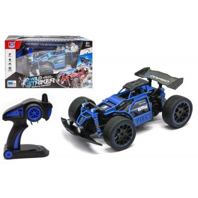 """Машинка на радиоуправлении """"Wild Striker"""" (синяя) 689-367 купить в магазине """"Пустун"""""""