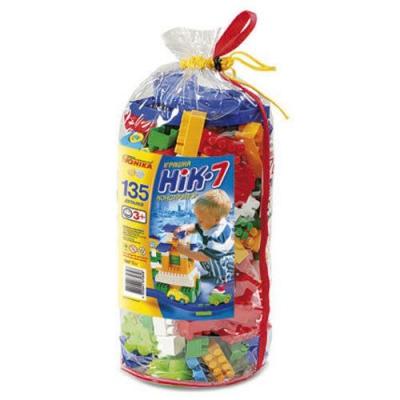 """Конструктор пластиковый ЮНИКА НІК-7 135 деталей (0828) купить в магазине """"Пустун"""""""