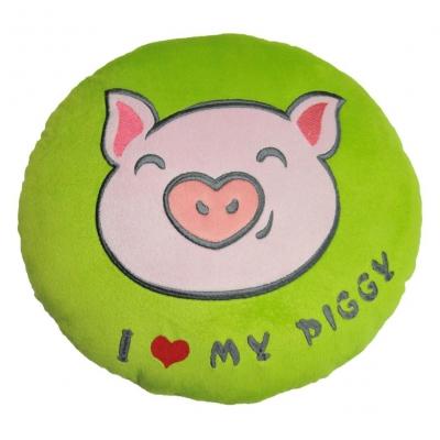 """Подушка TIGRES I love my piggy (ПД-0253) купить в магазине """"Пустун"""""""