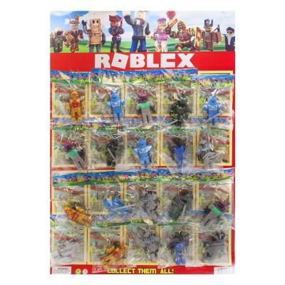 """Фигурки """"Roblox"""" на листе, 20 штук 21511 купить в магазине """"Пустун"""""""