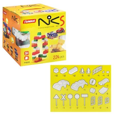 """Пластиковый конструктор NIK-5 224 детали (1559) купить в магазине """"Пустун"""""""