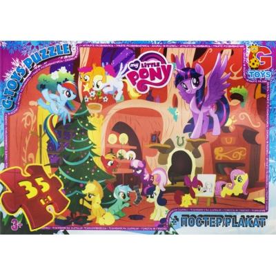 """Пазлы из серии """"My little Pony"""", 35 эл MLP023 купить в магазине """"Пустун"""""""