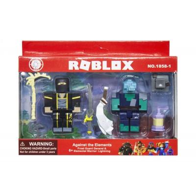 "Набор мини фигурок ""Roblox: Croc  Yin Clan Master"" 1858-1/2/3/4 купить в магазине ""Пустун"""