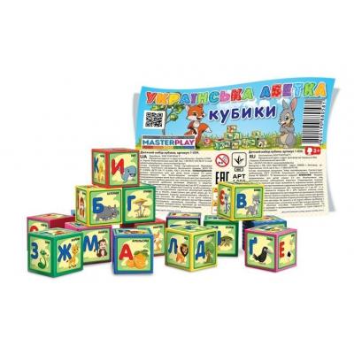 """Кубики """"Азбука"""", укр 1-059 купить в магазине """"Пустун"""""""