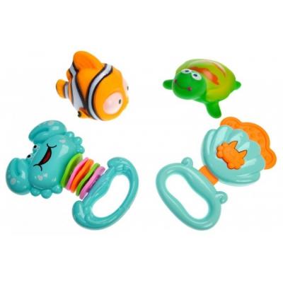 """Набор пищалок """"Веселые  зверята: Рыбка"""" YS-112 купить в магазине """"Пустун"""""""