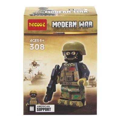 """Конструктор """"Modern War"""", 12 дет, вид 4 308-311 купить в магазине """"Пустун"""""""