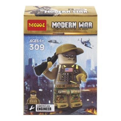 """Конструктор """"Modern War"""", 12 дет, вид 3 308-311 купить в магазине """"Пустун"""""""