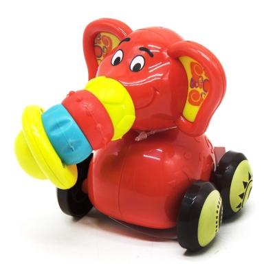 """Игрушка """"Забавные зверята: красный слон"""" 9943 купить в магазине """"Пустун"""""""