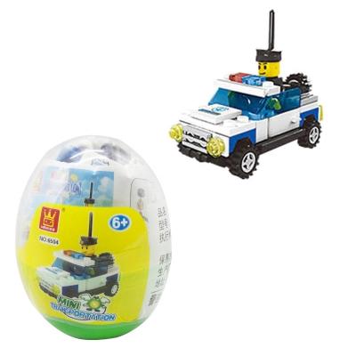 """Конструктор """"Мини транспорт. Полиция"""" 6501-6506 купить в магазине """"Пустун"""""""