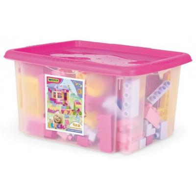 """Конструктор 132 элемента в коробке (для девушек) (41280) купить в магазине """"Пустун"""""""