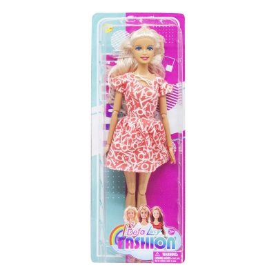 """Кукла """"Defa Lucy"""", в коралловом 8406 купить в магазине """"Пустун"""""""