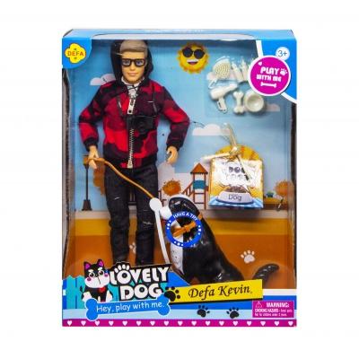 """Кукла """"Defa Kevin. Lovely Dog"""", в красном 8429 купить в магазине """"Пустун"""""""