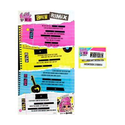 """Набор из двух кукол l.o.l surprise! W1 серии remix hairflip  музыкальный сюрприз (566960-А) купить в магазине """"Пустун"""" Фото 6"""