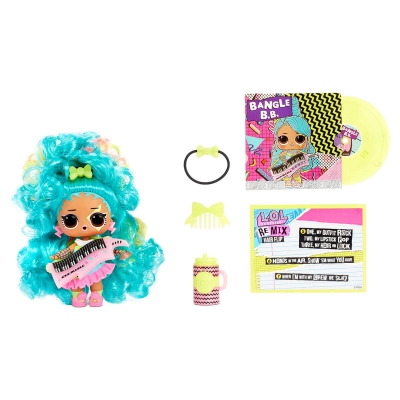"""Набор из двух кукол l.o.l surprise! W1 серии remix hairflip  музыкальный сюрприз (566960-А) купить в магазине """"Пустун"""" Фото 10"""