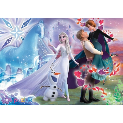 """Пазлы Trefl Волшебный мир сестер Дисней Ледяное сердце 2 200 элементов (13265) купить в магазине """"Пустун"""" Фото 2"""