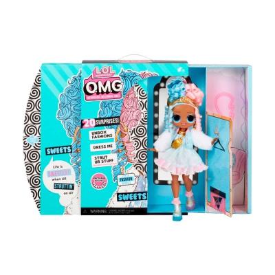 """Игровой набор с куклой L.O.L. Surprise! серии O.M.G. S4 – Леди-Конфетка (572763) купить в магазине """"Пустун"""" Фото 2"""