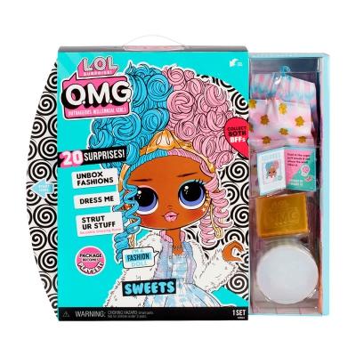 """Игровой набор с куклой L.O.L. Surprise! серии O.M.G. S4 – Леди-Конфетка (572763) купить в магазине """"Пустун"""" Фото 3"""