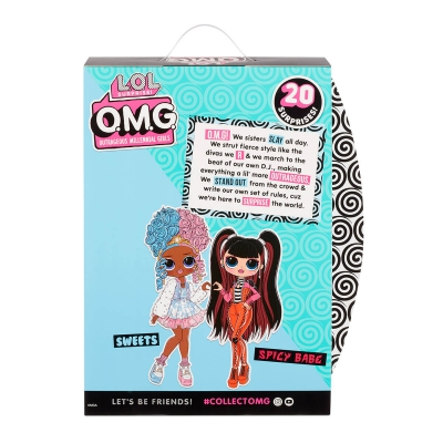 """Игровой набор с куклой L.O.L. Surprise! серии O.M.G. S4 – Леди-Конфетка (572763) купить в магазине """"Пустун"""" Фото 10"""