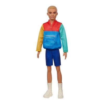 """Кукла Barbie Кен Модник в свитшоты в стиле пэчворк (GRB88) купить в магазине """"Пустун"""""""