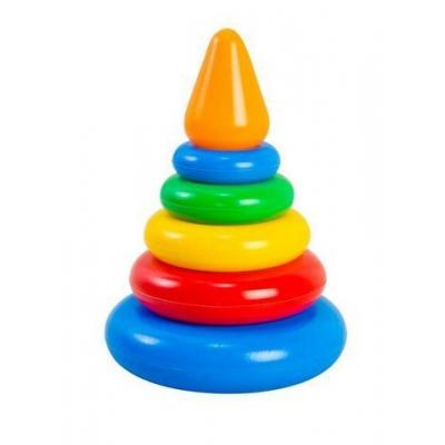 """Развивающая игрушка TIGRES Пирамидка (39116) купить в магазине """"Пустун"""""""