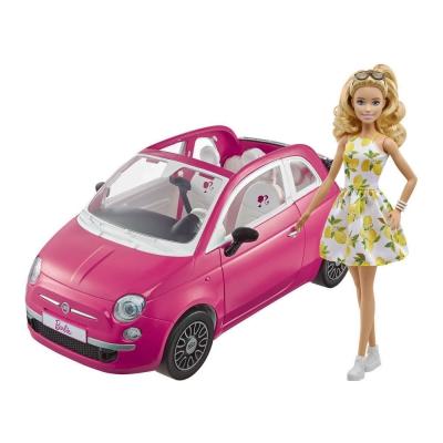 """Набор с куклой Barbie Фиат розовый (GXR57) купить в магазине """"Пустун"""""""