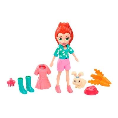 """Кукла Polly Pocket Лила с любимцем (GDM11) купить в магазине """"Пустун"""""""