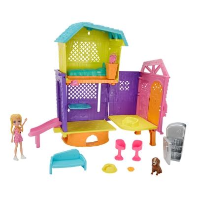 """Игровой набор с куклой Polly Pocket Летний домик (GMF81) купить в магазине """"Пустун"""""""