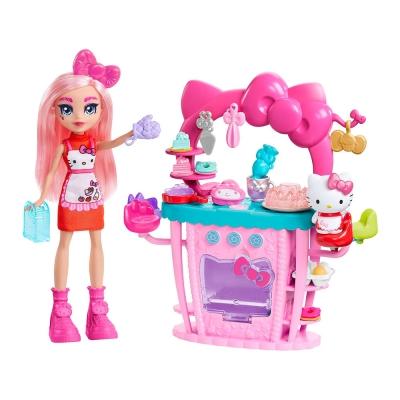 """Игровой набор Hello Kitty и друзья Пекарня-кондитерская (GWX05) купить в магазине """"Пустун"""""""