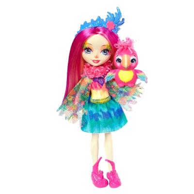 """Кукла Enchantimals Попугайчик Пикки (FJJ21) купить в магазине """"Пустун"""""""