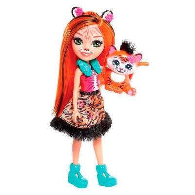 """Кукла Enchantimals Тигрятко (FRH39) купить в магазине """"Пустун"""""""