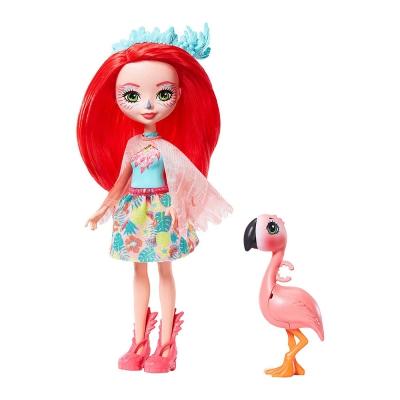 """Кукла Enchantimals Фламинго Фэнси (GFN42) купить в магазине """"Пустун"""""""