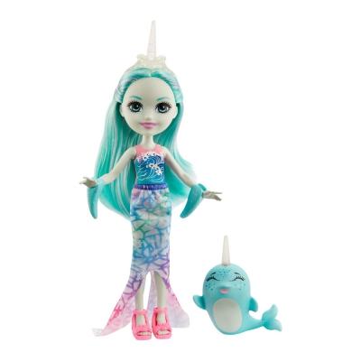"""Кукла Enchantimals Нарвал Наддо (GJX41) купить в магазине """"Пустун"""""""