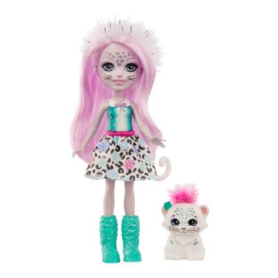 """Кукла Enchantimals Снежный леопард Сибил (GJX42) купить в магазине """"Пустун"""""""