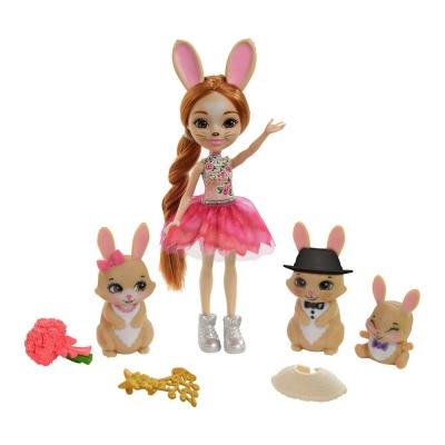 """Игровой набор Enchantimals Семья кролика Бристал (GYJ08) купить в магазине """"Пустун"""""""