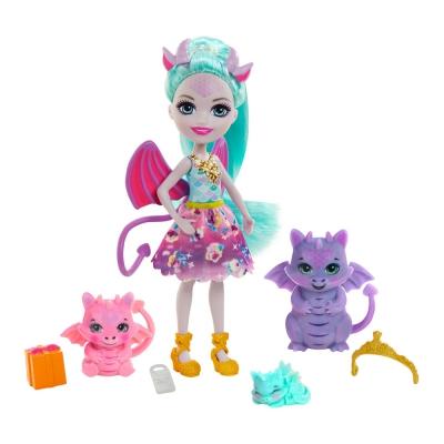 """Игровой набор Enchantimals Семья драконици Дианна (GYJ09) купить в магазине """"Пустун"""""""