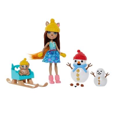 """Игровой набор Enchantimals Белочки и снеговички (GNP16) купить в магазине """"Пустун"""""""