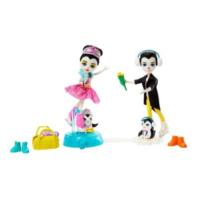 """Игровой набор Enchantimals Пингвины-фигуристы (GJX49) купить в магазине """"Пустун"""""""
