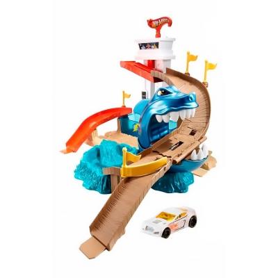 """Трек Hot Wheels Охота на акулу серии Измени цвет (BGK04) купить в магазине """"Пустун"""""""